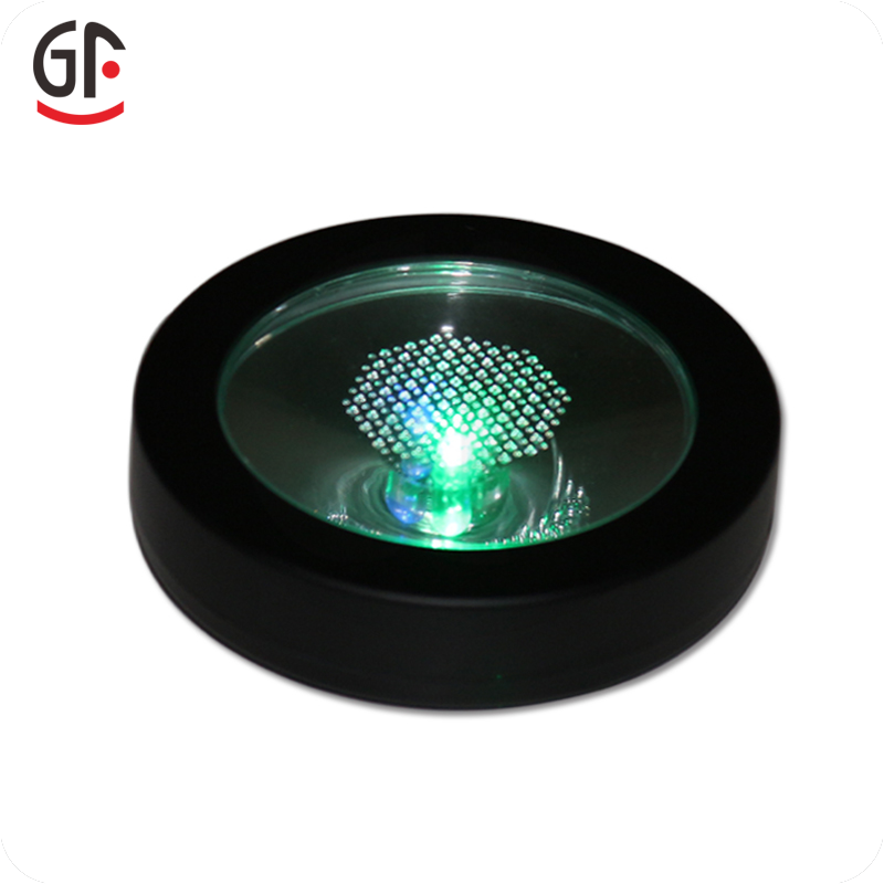Hot Selling Battery Operated Plastic Flashing Led Bottle Base