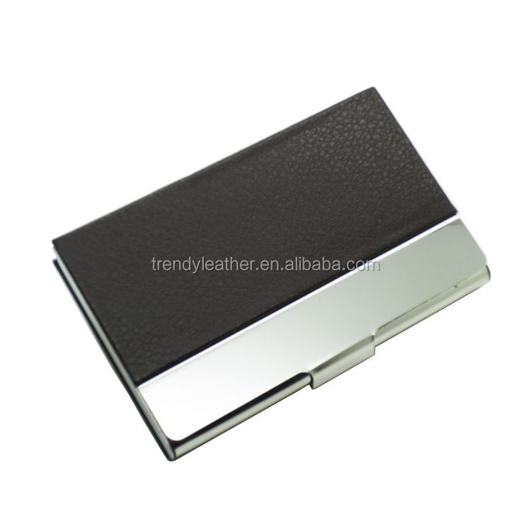 Fashion metal business card display holders