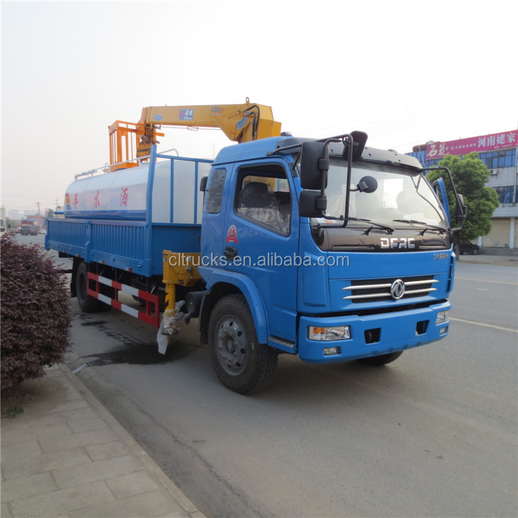 Designer hot selling truck with crane crawler crane price