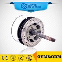Chinese widely used 3 wheel used electric bicycle hub motor for sale