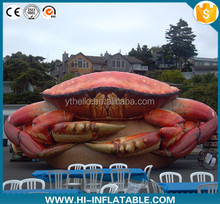 Amazing New custom inflatable seafood/event promotion crab/advertising crab model