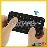 Hot selling Mini Bluetooth Keyboard for New iPad/for iPad MINI/for iPhone 5 & 5S/for Smart Phone/laptop