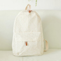 2015 New Design Fashionable Girls College Bags,White Bags For Women,Korean Canvas Bag