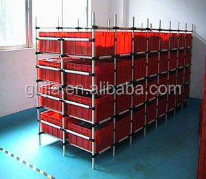 galvanized pipes black steel pipe lean tube pipe rack system supplier
