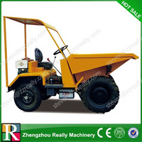 Sand, earth, short-distance transport mini dump truck