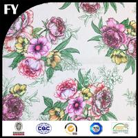 Factory custom high quality digital printing 100% polyester jacquard fabric
