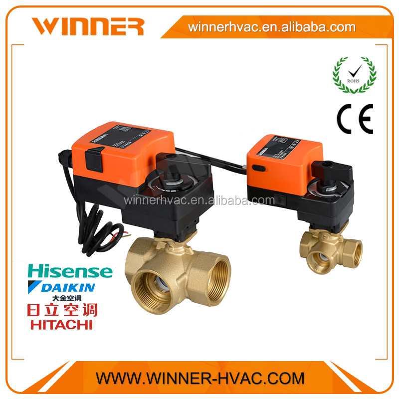 Chilled Water/Cooling Water Tempeature Control Motorized Water Valve
