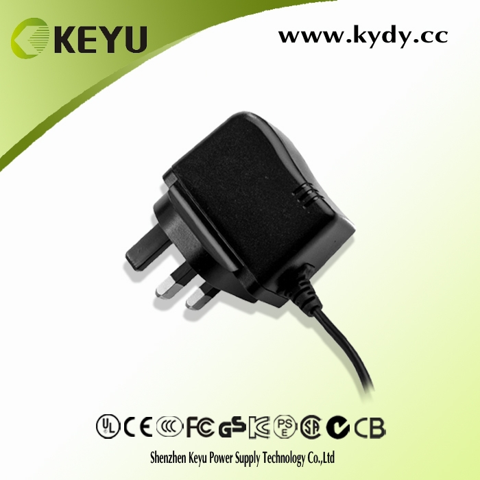 Slim Power Adapter 12v for Wifi 4g Router in Europe US market