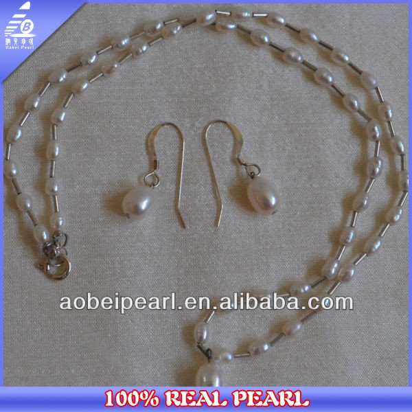 2014 Latest Design Freshwater Beautiful Pearl Of Fashion Pearl Settings Jewelry