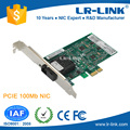 LR-LINK LREC9020PF-LX PCIe X1 100FX SC Port SM Fiber Ethernet Card For Desktop