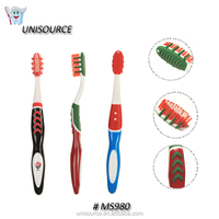 New Material Plastic Big Round Handle Toothbrush