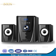 wholesale home 2.1 theater systems with LED dispaly home theater sub woofer/active subwoofer