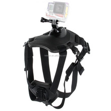 For Go Pro Hero4/3+/3 Dog Fetch Harness Chest Strap Belt Mount