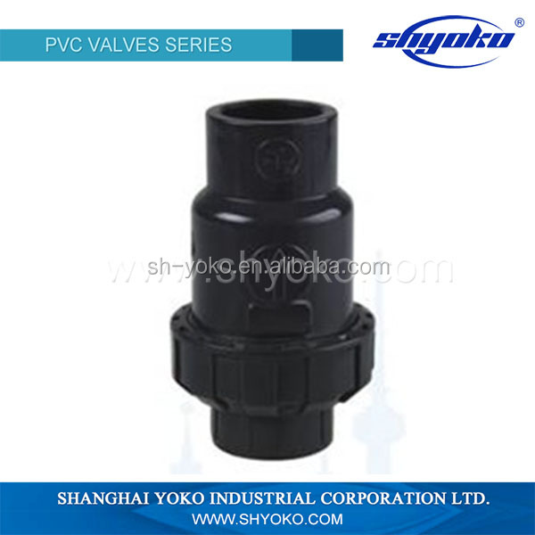 PVC Valves Manufacturer Ball Type Check Valves Non Return Valve PVC