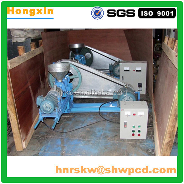 2016 hot sale Floating fish feed pellet machine
