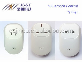 Bluetooth BLE4.0 Remote Control Smart (Extension) Socket/Outlet/Plug