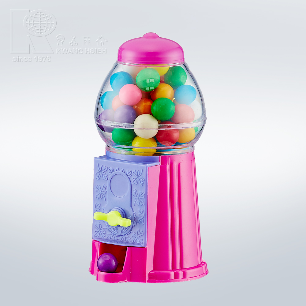 Kwang Hsieh 6 Inch Plastic Bulk Food Dispenser Candy Toy Mini Dispenser