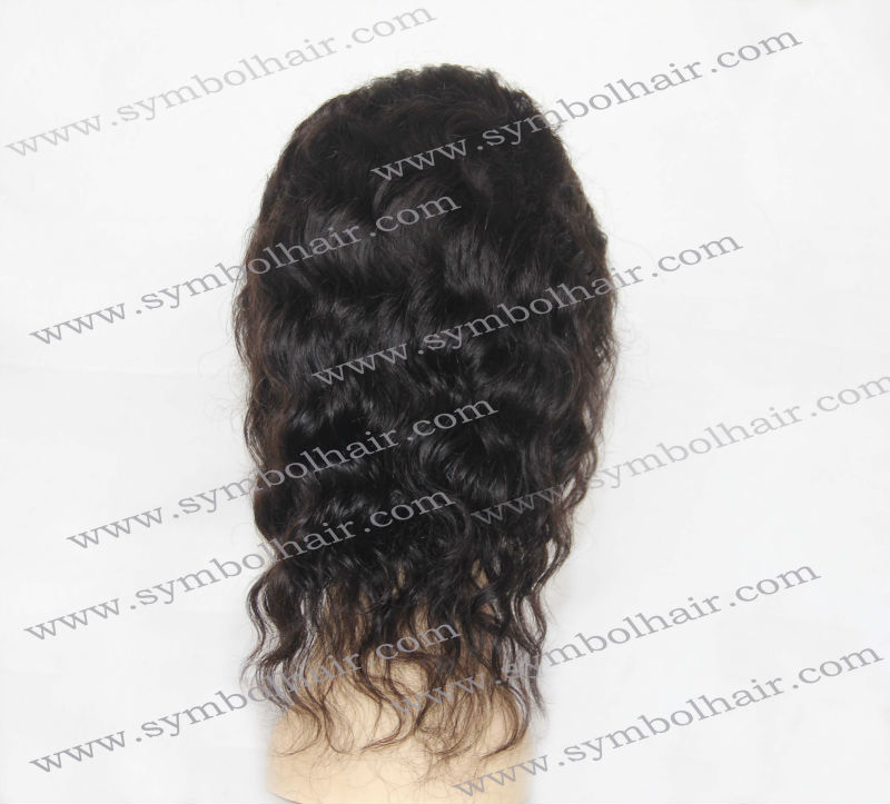 wholesale top <strong>quality</strong> 100% 8 inches Inidan Remy hair full lace wig