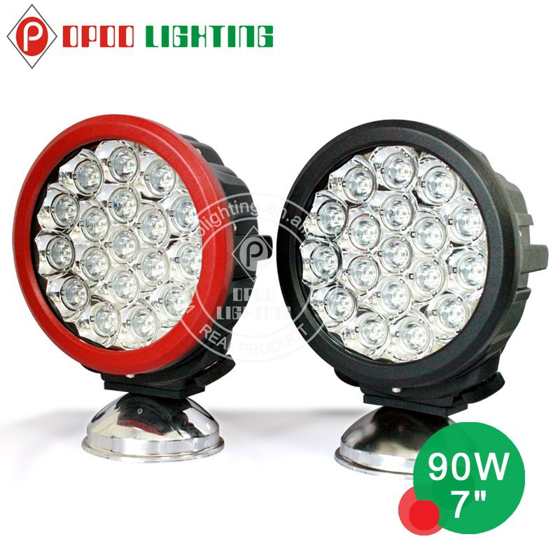 "7"" Round CREE 90W led driving light ,led off road light for ATV,UTV,TRUCK ,4x4 off road use"