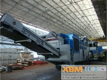 2012 New Developed,Advanced Technology, Best Quality Mobile Crusher Fit For Primary Crushing