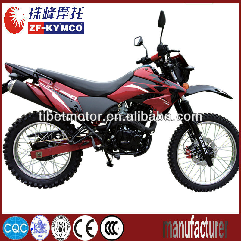 Super wholesale gas-powered mini dirt bike for sale ZF200GY-4