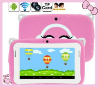 Cute Style Kids Tablet PC Pink /Blue, 4.3 inch Capacitive Screen Android Mini Tablet PC, 512MB RAM 4GB ROM