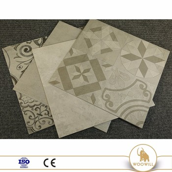 off-white tone ceramic cement tile , porcelain floor tile cement