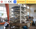 Continual plate drier for copper carbonate/cpper carbonate drying machine