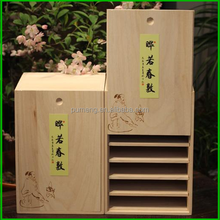 New design and hot sell wooden box for Craft, Jewelry, Tea, Exhibition