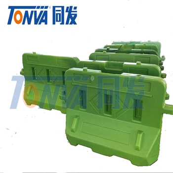 HDPE Road Block Plastic Products Blow Mould