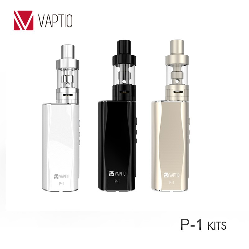 2016 hot sell VAPTIO P1 50W Organic Cotton Coil mod vape smoke electronic