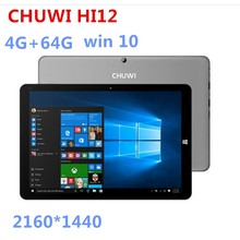 factory price 12inch tablet pc chuwi HI12 4GB+64GB win 10 Intel Z8350 Tablet 2160*1440