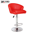 swivel and liftable bar chair PU leather bar stool