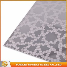 Top quality etched stainless steel sheet/plate, stainless steel perforated sheet, stainless steel decorative sheets