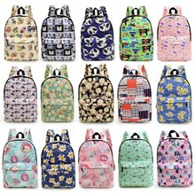 Custom canvas popular cute multicolor wholesale kids animal child school Bag