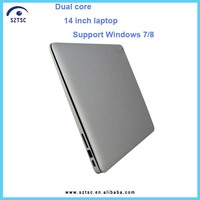 Buy cheap laptops in china !! 14.1 inch low cost mini laptop with DVD drive
