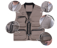 Wholesale Multi-functional photographer biker vest cameraman vest