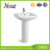 D623 thick europe style design bathroom ceramic wash basin toilet