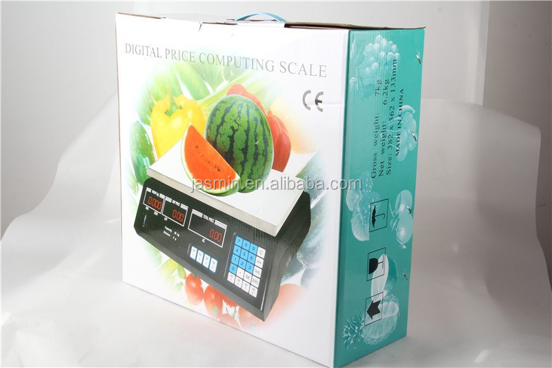 Yiwu Electronic Digital Price Computering Scale for Market useage or Household
