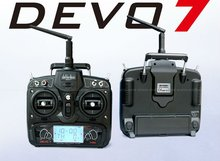 Walkera DEVO 7 2.4G 7CH LCD Screen Radio System RC Transmitter for Drone