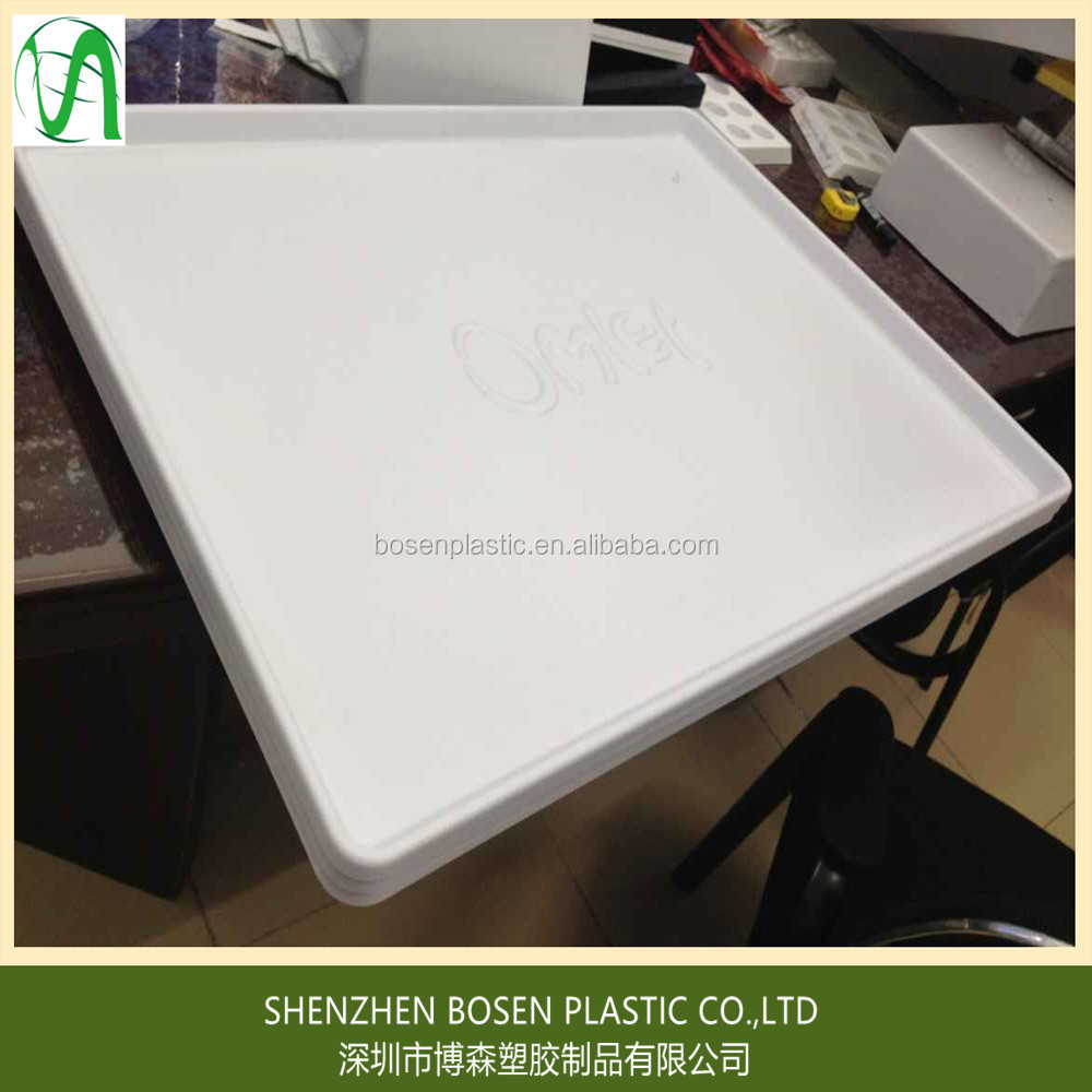 Large size thermoforming plastic tray