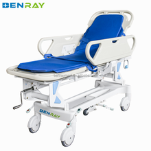 BR-TS2 Cheap Manual hydraulic stretcher first aid stretcher patient stretcher transportation factory