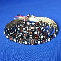 Factory Price Addressable Pixel Full RGB Color Digital Led Strip dc5v ws2812b strip 144