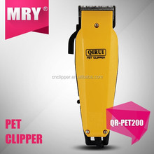 High quality Pet animal hair clipper grooming kit target hair clipper hair trimmer