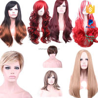 wholeasle party long free wig catalogs