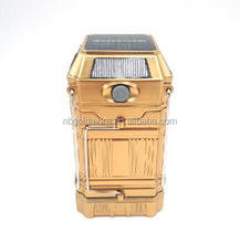 Emergency Road Flare Outdoor Solar Rechargeable Collapsible 1W + 6 LED Camping Lantern