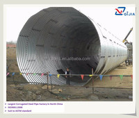 easy maintenance and easy installation, high quality assembly corrugated culvert metal pipe