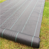 4m Wide 100gsm Ground Cover Weed Control Fabric membrane mulch