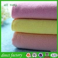 home textiles moist cotton towel 100 polyester towel 100 decoration towel with CE certificate