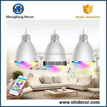 Bluetooth Music Bulb LED bluetooth specker lamp glass colored changeable phone control bulb